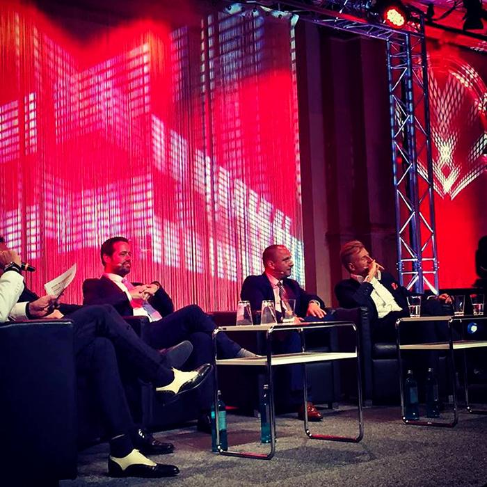 Auf der Investors Gala in Frankfurt